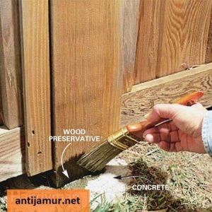 sistem kuas pengawetan kayu
