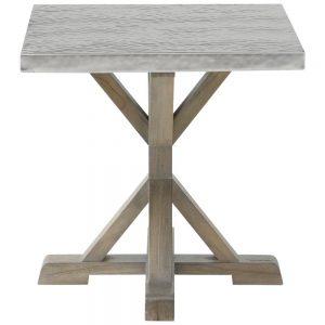 meja kayu mindi