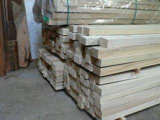 kayu balsa potongan