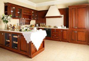 keindahan kabinet dapur