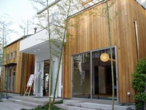 bangunan dari bambu