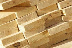 kayu gergajian