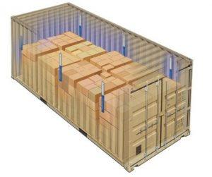 container desiccant pole