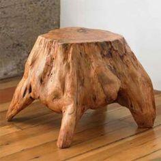 furniture bonggol kayu