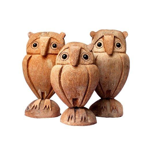 kerajinan kayu kelapa