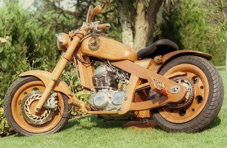 motor kayu